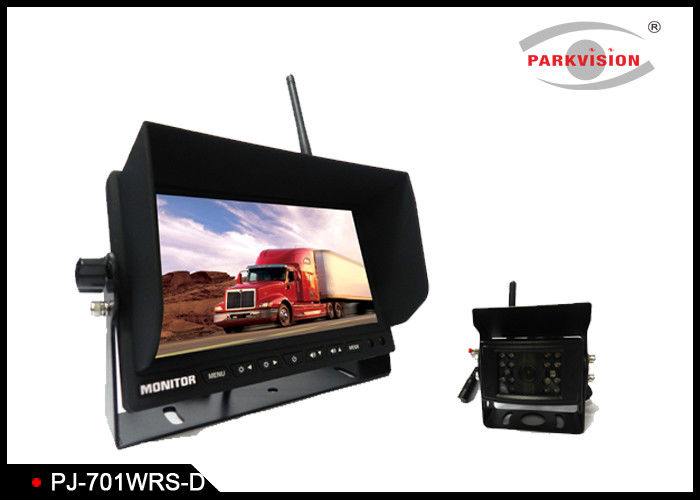2W 420TVL Bus Surveillance Systems , Wireless Backup Camera System For Trucks