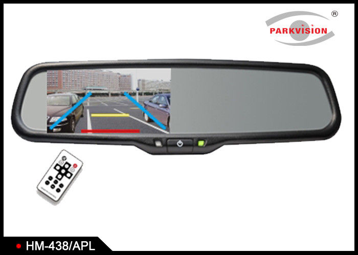 Auto Brightness Control GPS Rear View Mirror With Backup Camera And Bluetooth